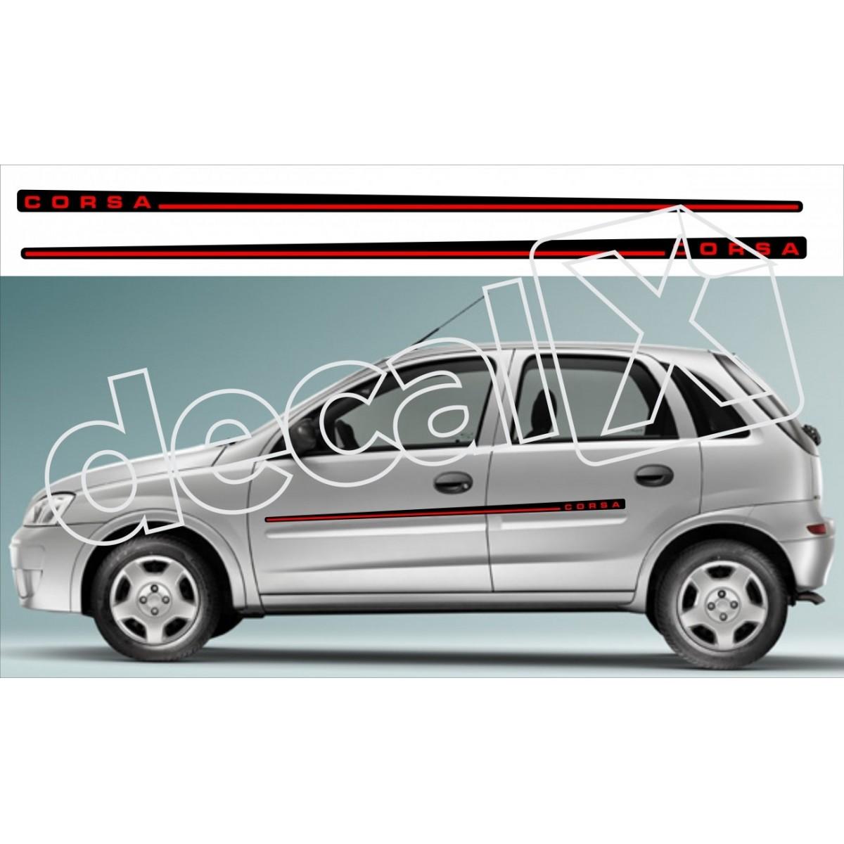 Adesivo Chevrolet Corsa Faixa Lateral 3m Cm1002