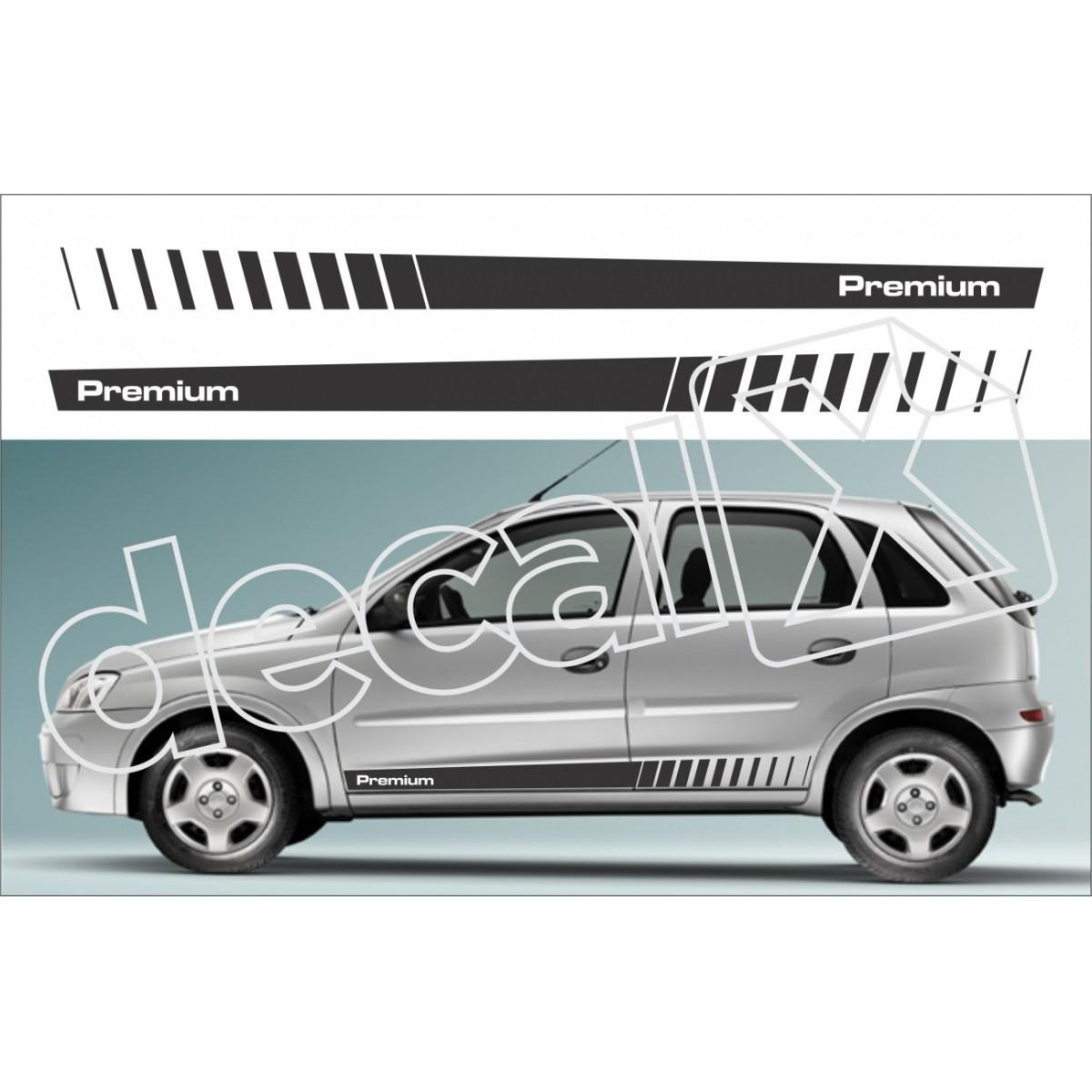 Adesivo Chevrolet Corsa Faixa Lateral 3m Cm2008