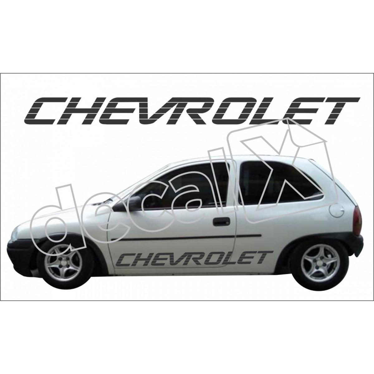 Adesivo Chevrolet Corsa Faixa Lateral 3m Cm3006
