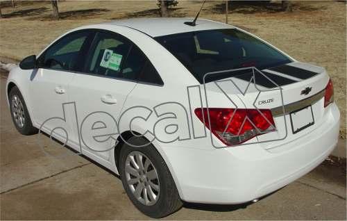 Adesivo Chevrolet Cruze Faixa Capo Mala 3m Czrrl01