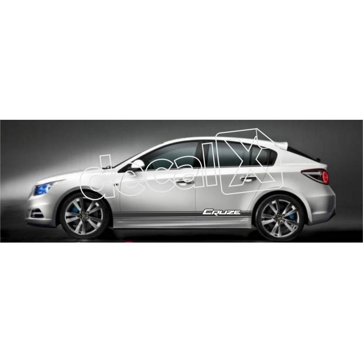 Adesivo Chevrolet Cruze Faixa Lateral 3m Czmd204