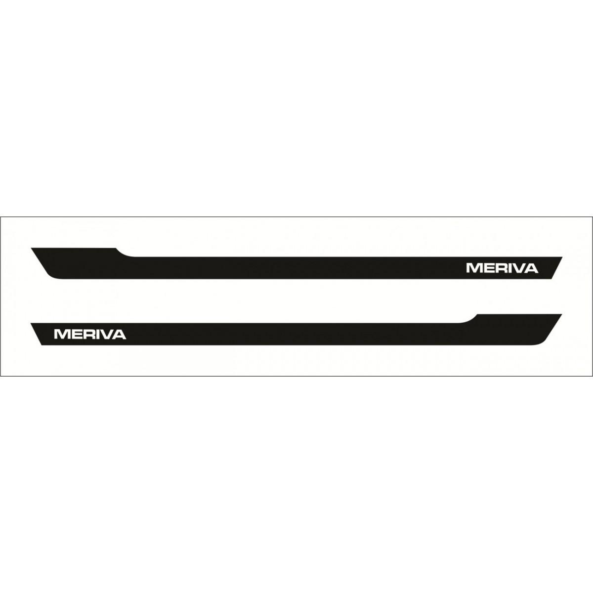 Adesivo Chevrolet Meriva Faixa Lateral 3m Mr006