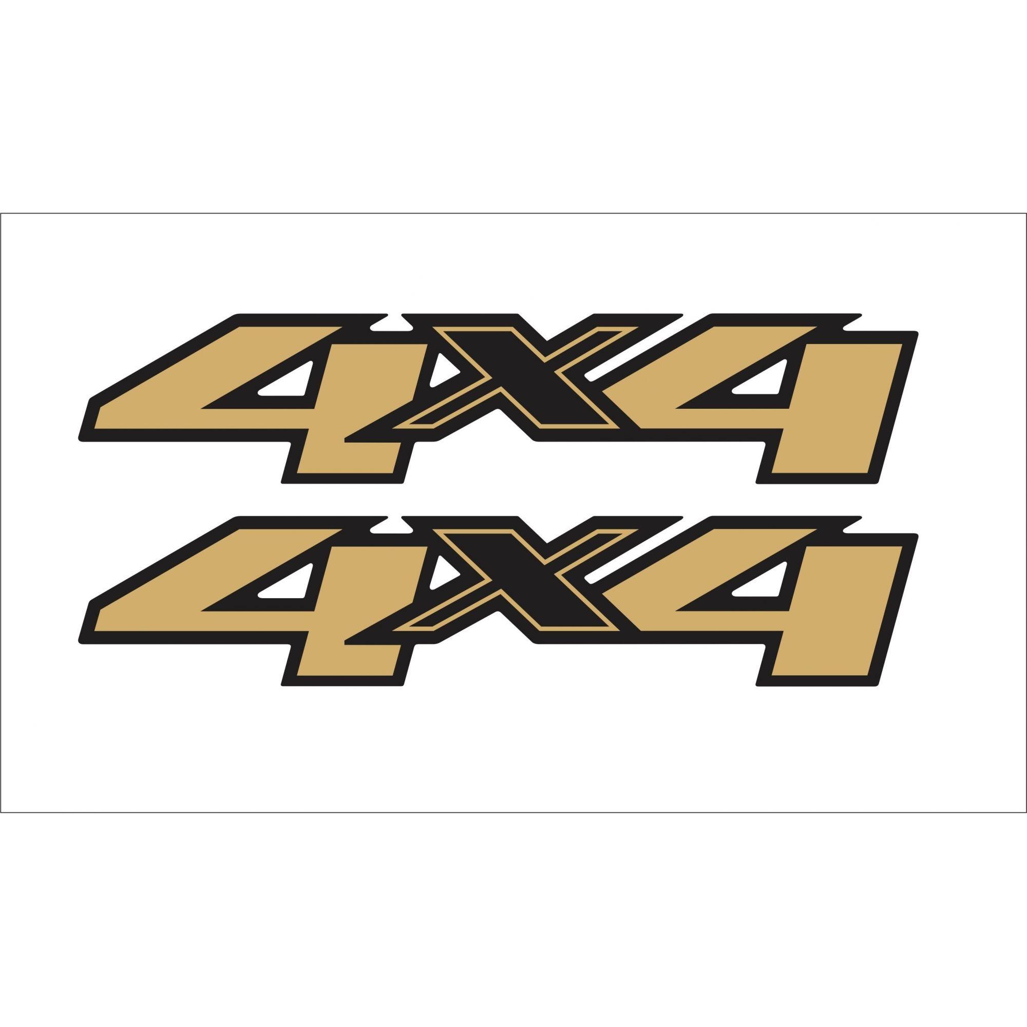 Adesivo Chevrolet S10 4x4 2012 Dourado S10p28