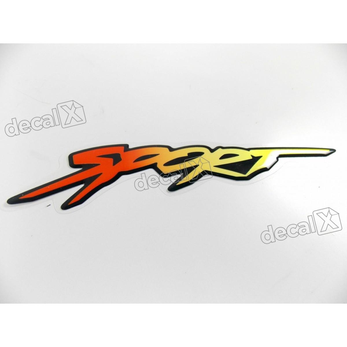 Adesivo Emblema Chevrolet Astra Sport Montana Resinado As01