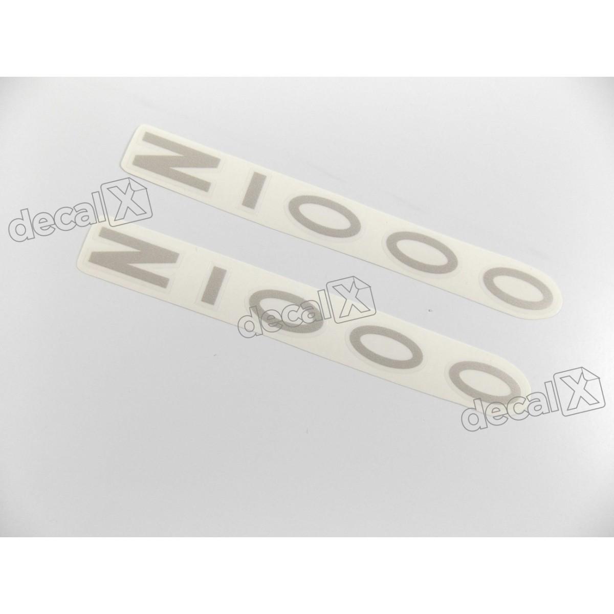 Adesivo Emblema Kawasaki Z1000 Prata