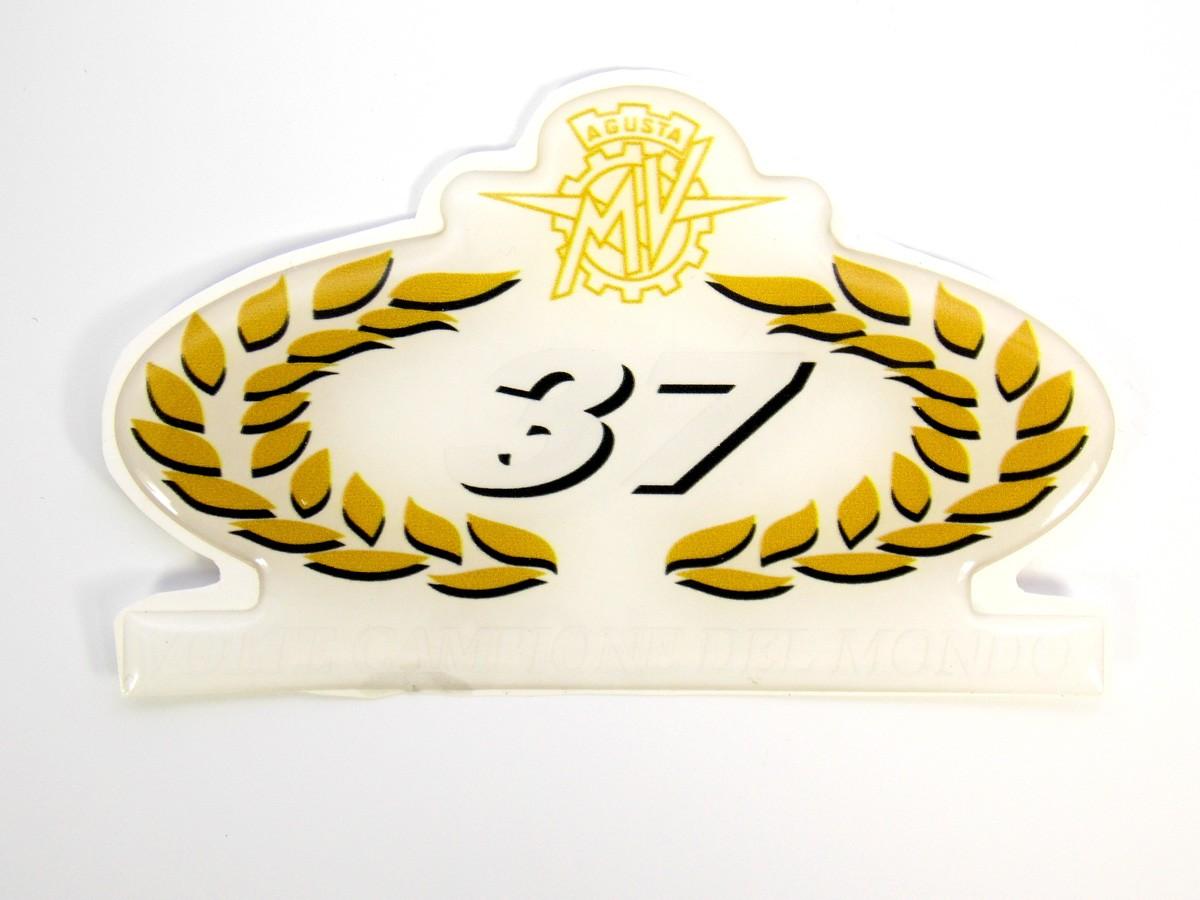 Adesivo Emblema Mv Agusta Resinado Agrs01
