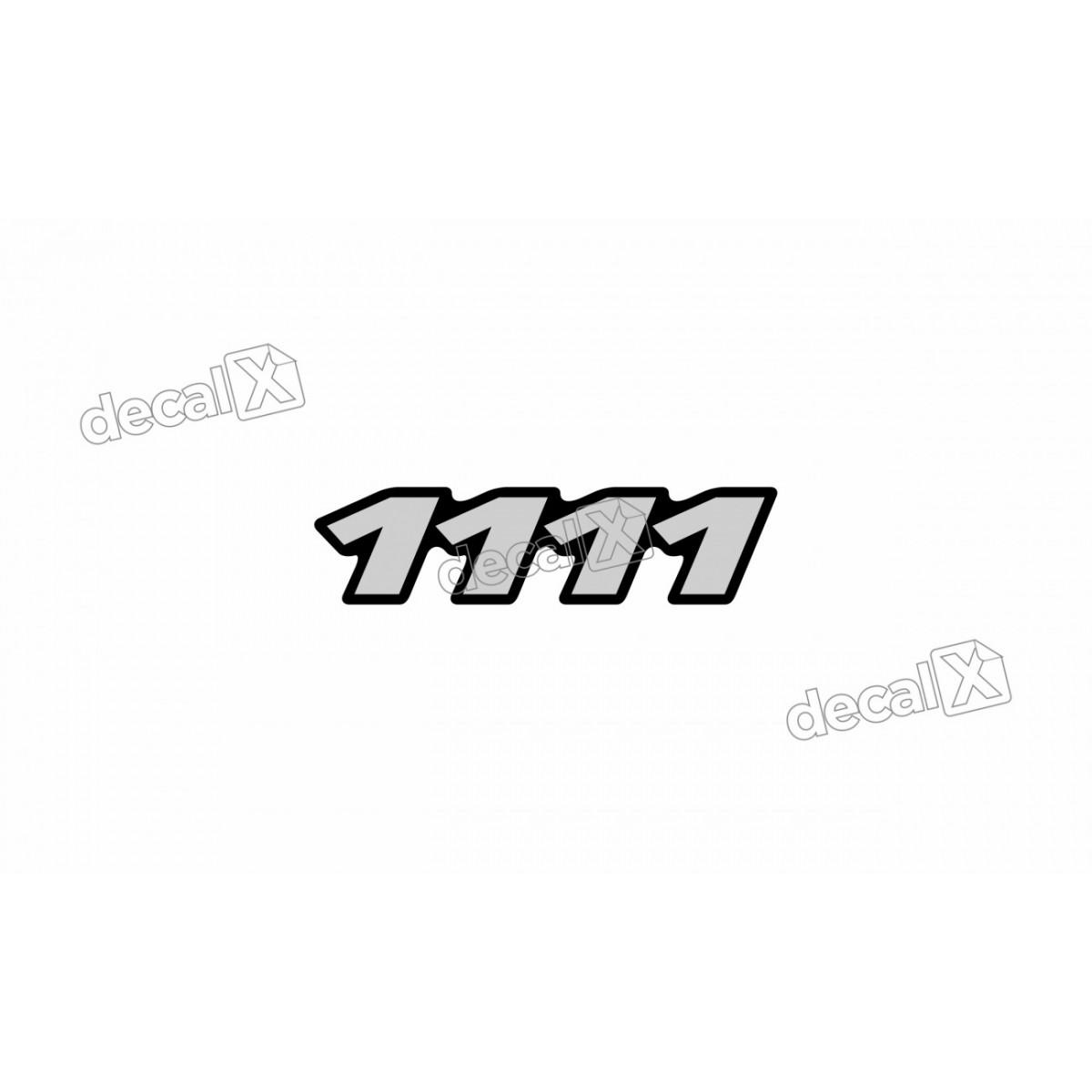 Adesivo Emblema Resinado Mercedes 1111 Cm15 Decalx