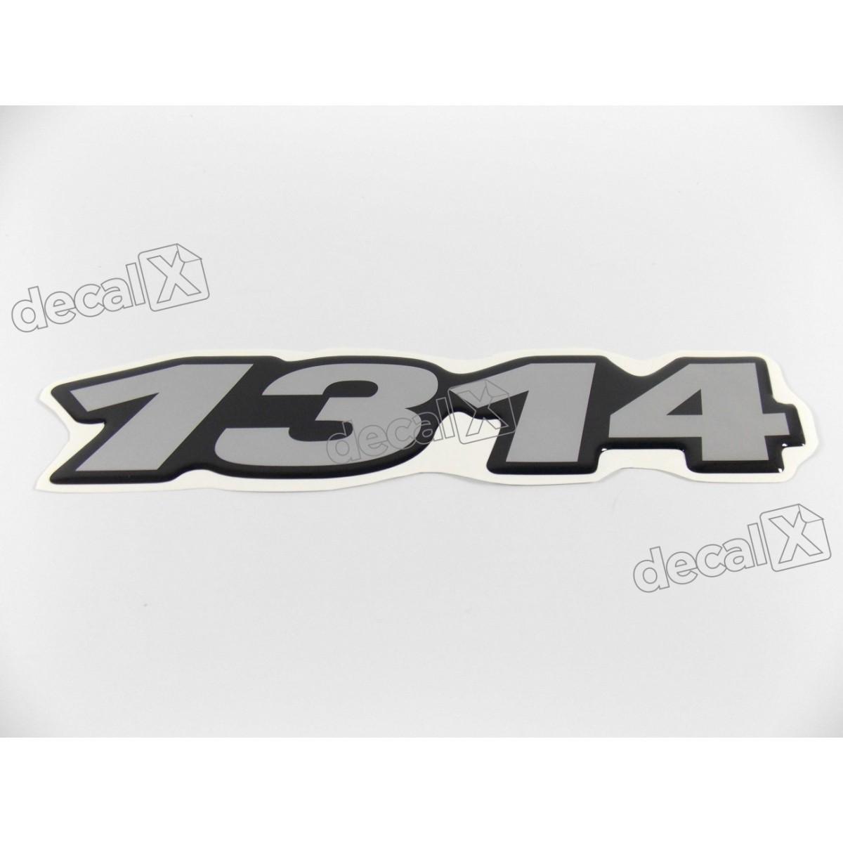 Adesivo Emblema Resinado Mercedes 1314 Cm24 Decalx