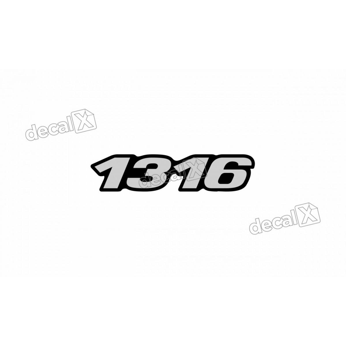 Adesivo Emblema Resinado Mercedes 1316 Cm25 Decalx