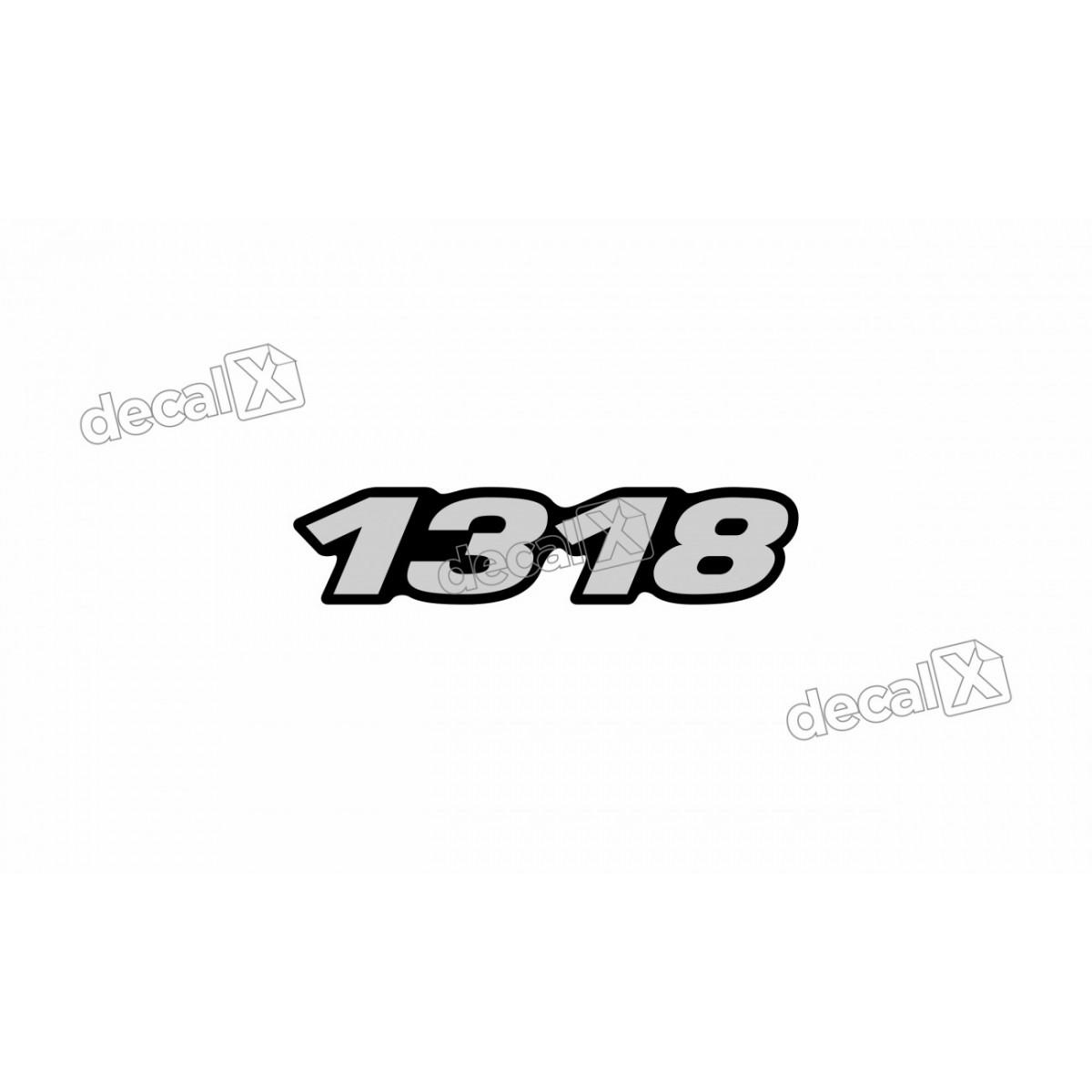 Adesivo Emblema Resinado Mercedes 1318 Cm27 Decalx