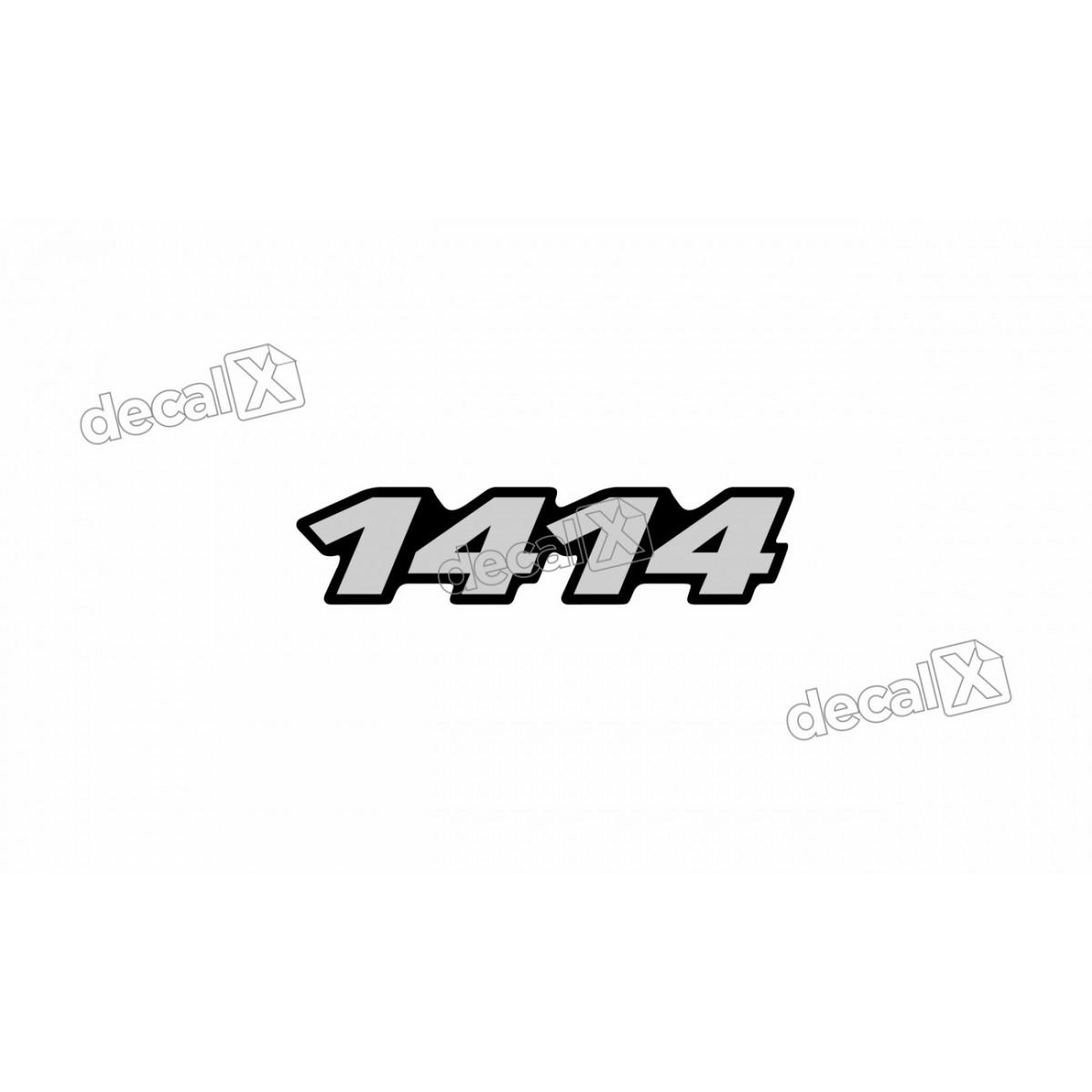 Adesivo Emblema Resinado Mercedes 1414 Cm28 Decalx