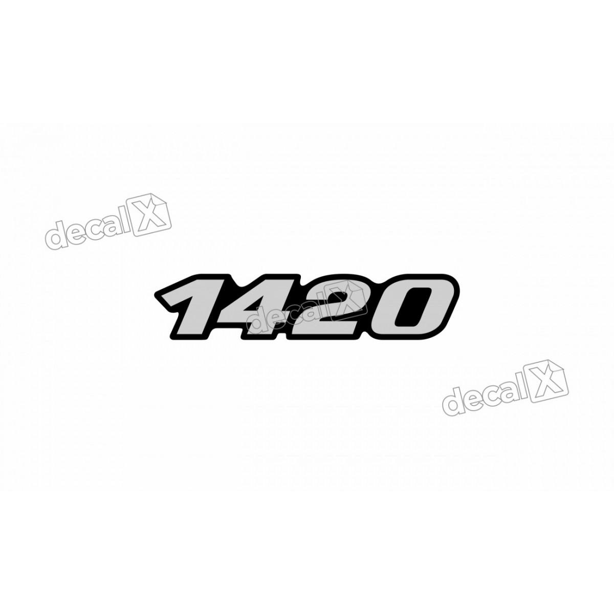 Adesivo Emblema Resinado Mercedes 1420 Cm31 Decalx