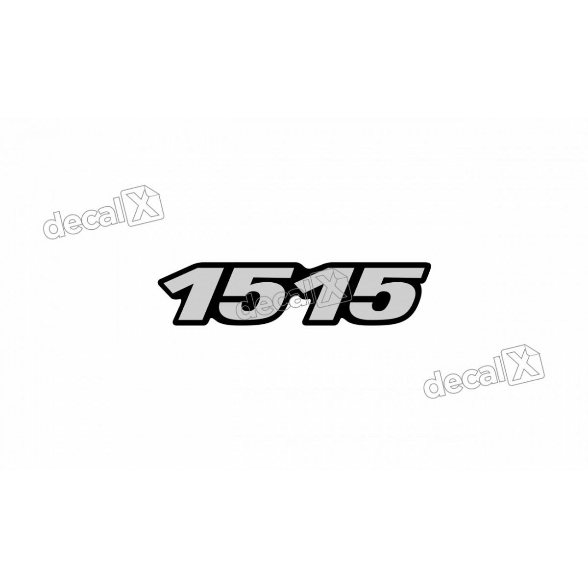 Adesivo Emblema Resinado Mercedes 1515 Cm34 Decalx