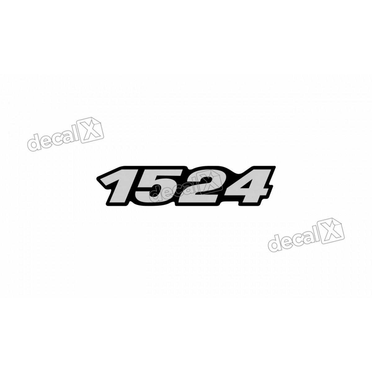 Adesivo Emblema Resinado Mercedes 1524 Cm40 Decalx