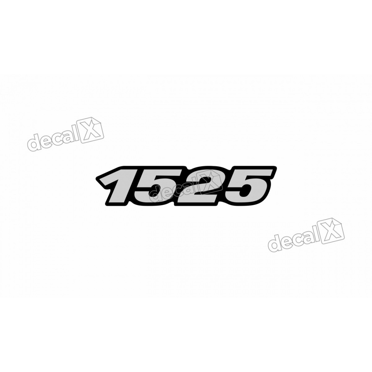 Adesivo Emblema Resinado Mercedes 1525 Cm41 Decalx