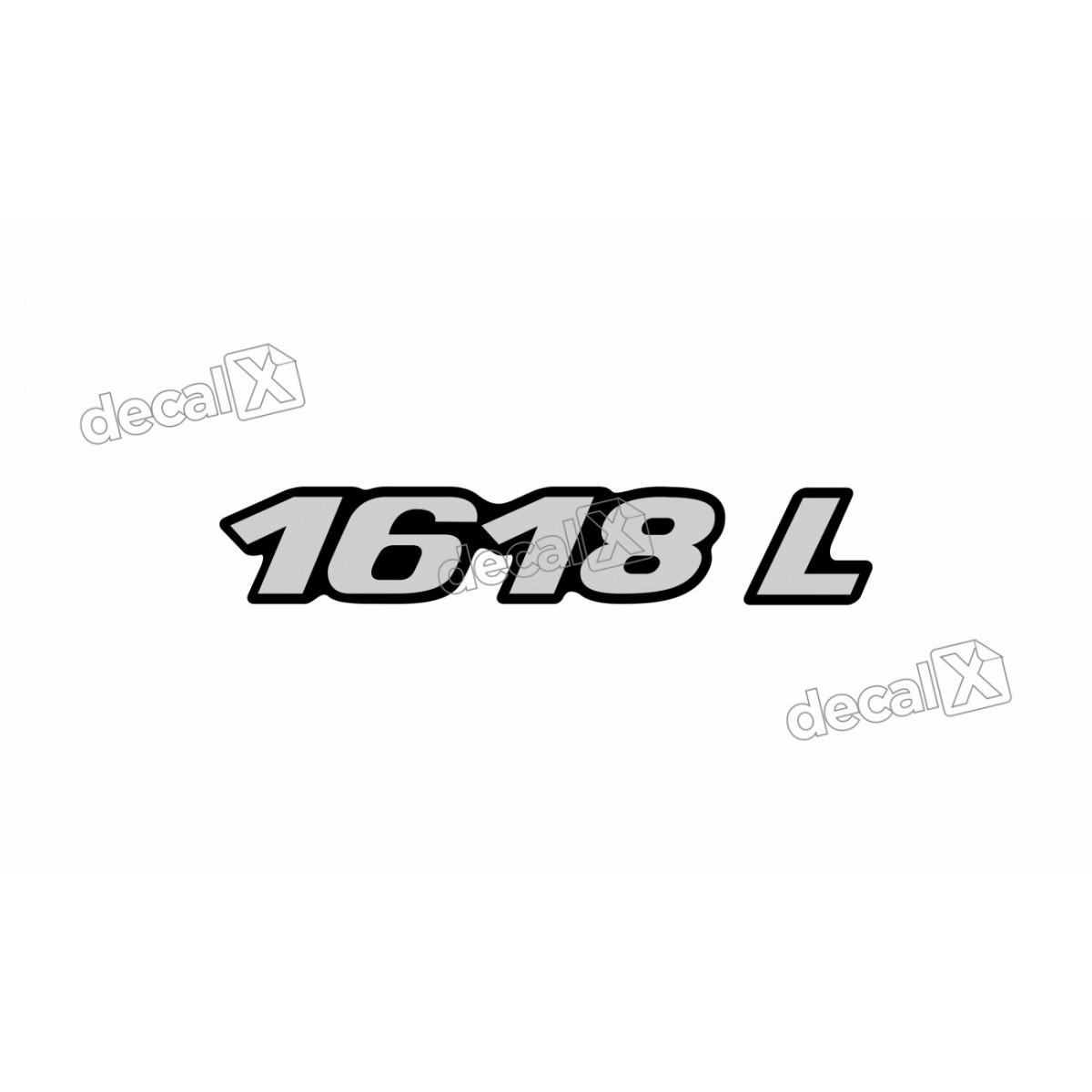 Adesivo Emblema Resinado Mercedes 1618 L Cm43 Decalx
