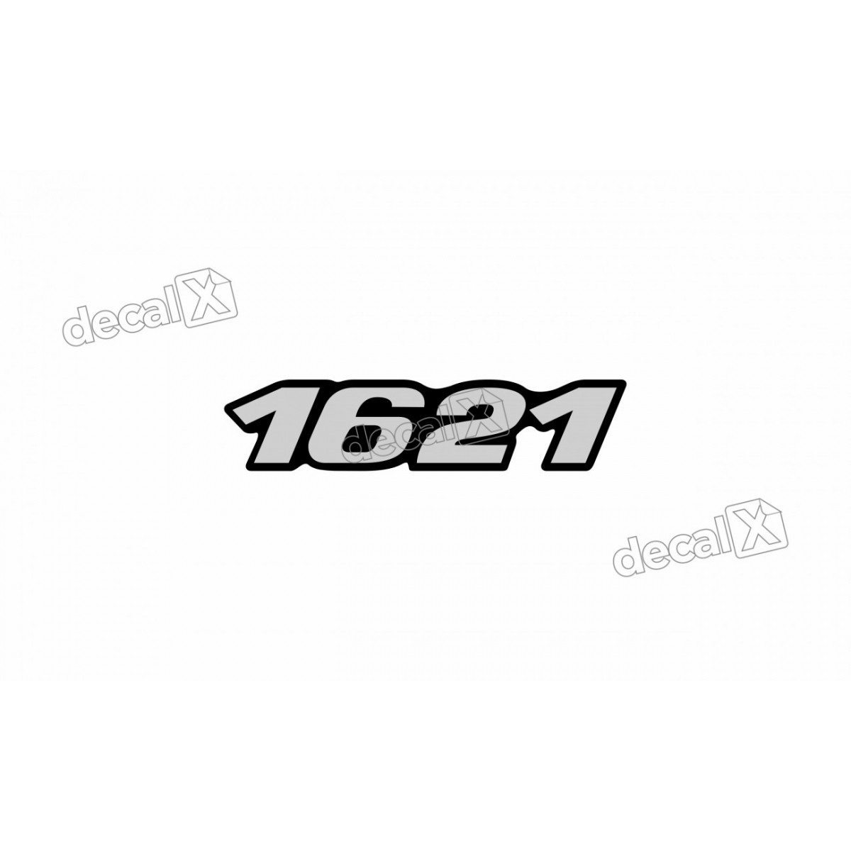 Adesivo Emblema Resinado Mercedes 1621 Cm48 Decalx