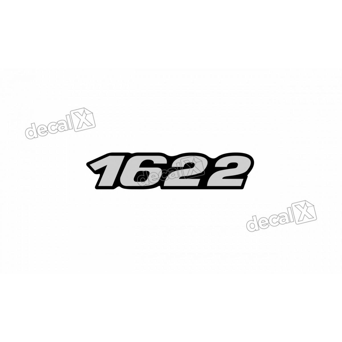 Adesivo Emblema Resinado Mercedes 1622 Cm49 Decalx