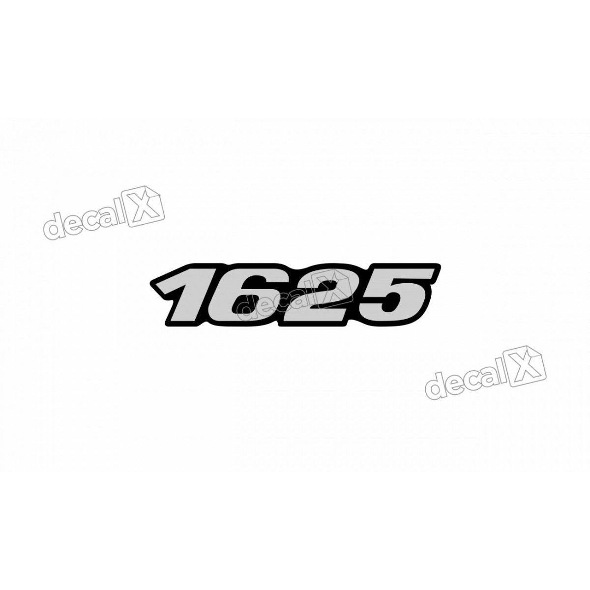 Adesivo Emblema Resinado Mercedes 1625 Cm52 Decalx
