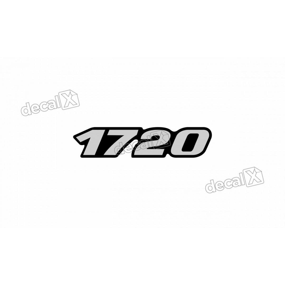 Adesivo Emblema Resinado Mercedes 1720 Cm60 Decalx