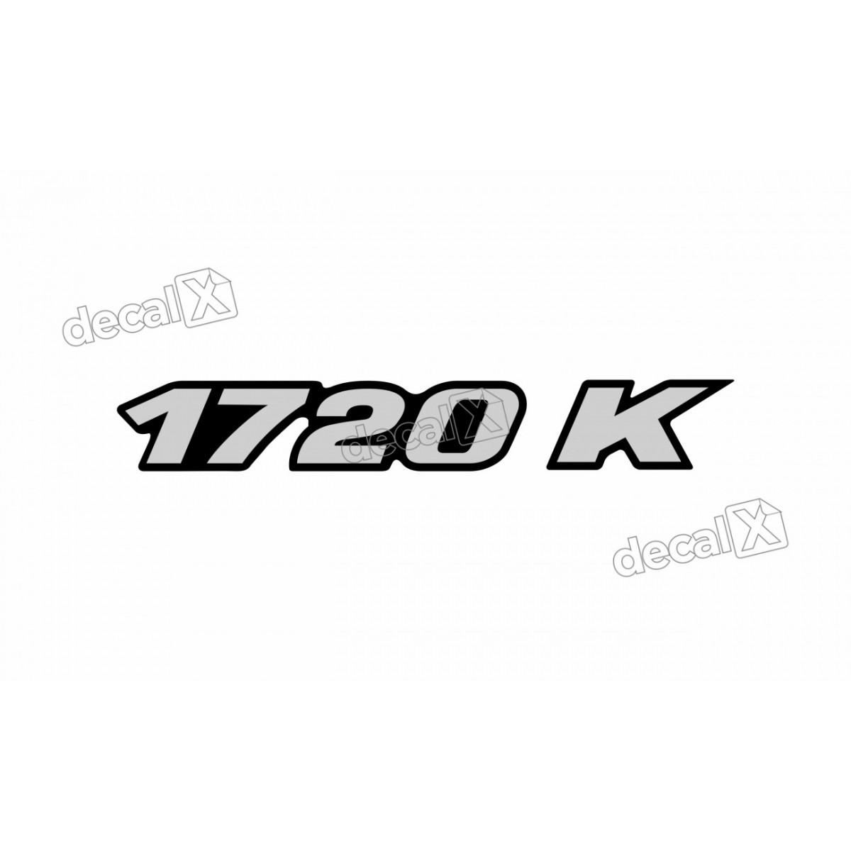 Adesivo Emblema Resinado Mercedes 1720 K Cm59 Decalx