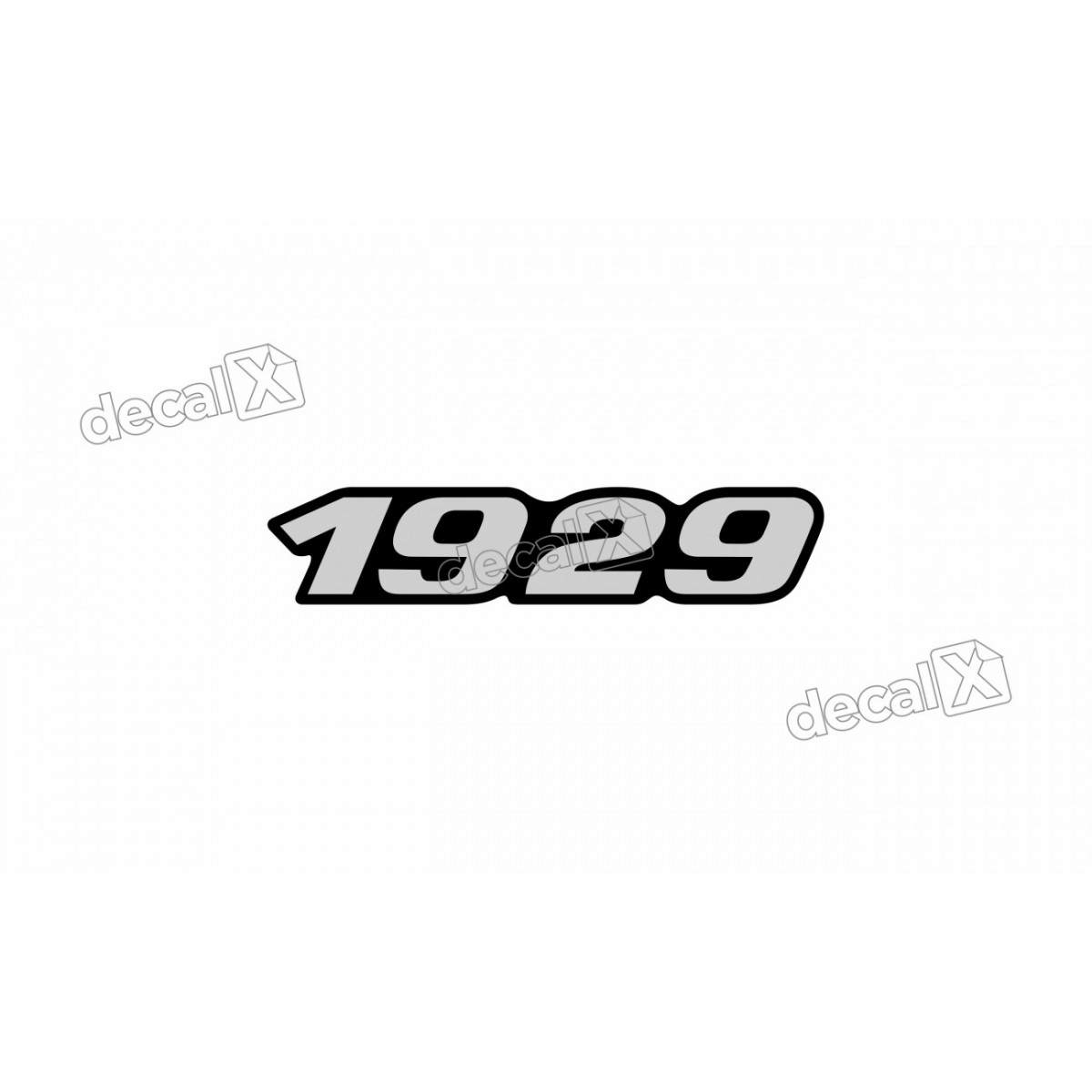 Adesivo Emblema Resinado Mercedes 1929 Cm66 Decalx