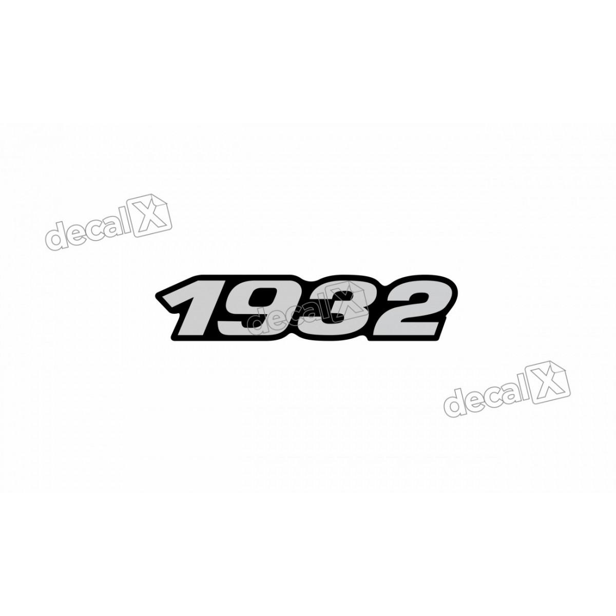 Adesivo Emblema Resinado Mercedes 1932 Cm67 Decalx