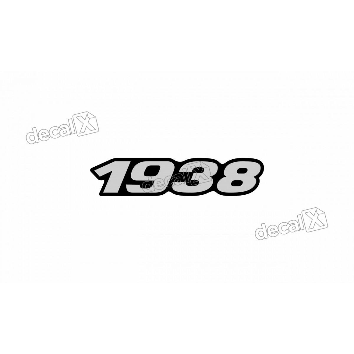 Adesivo Emblema Resinado Mercedes 1938 Cm72 Decalx