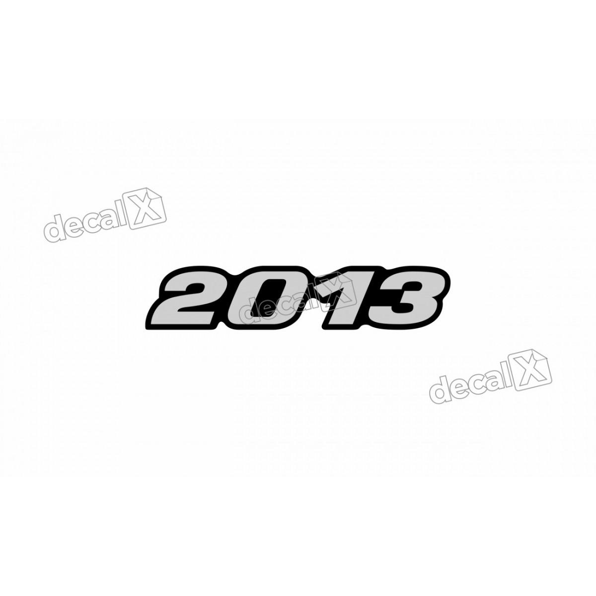 Adesivo Emblema Resinado Mercedes 2013 Cm75 Decalx
