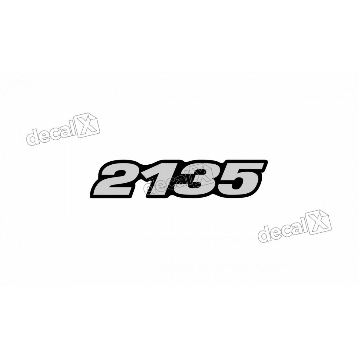 Adesivo Emblema Resinado Mercedes 2135 Cm76 Decalx