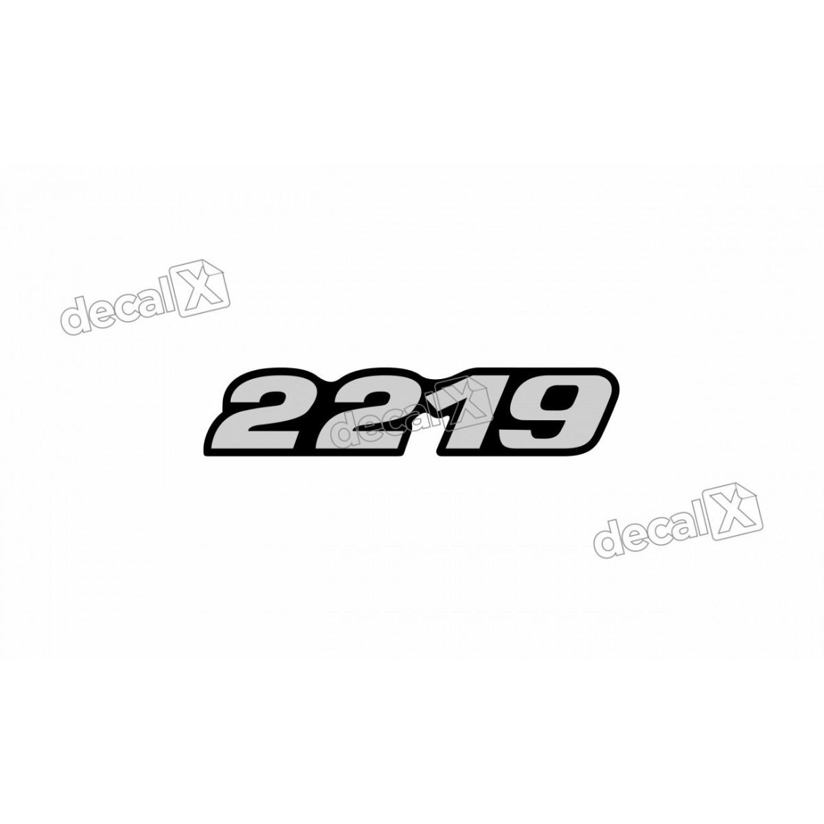 Adesivo Emblema Resinado Mercedes 2219 Cm81 Decalx