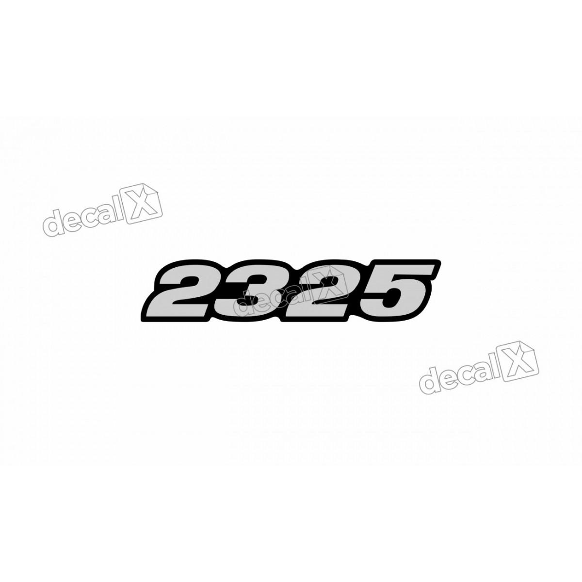 Adesivo Emblema Resinado Mercedes 2325 Cm84 Decalx