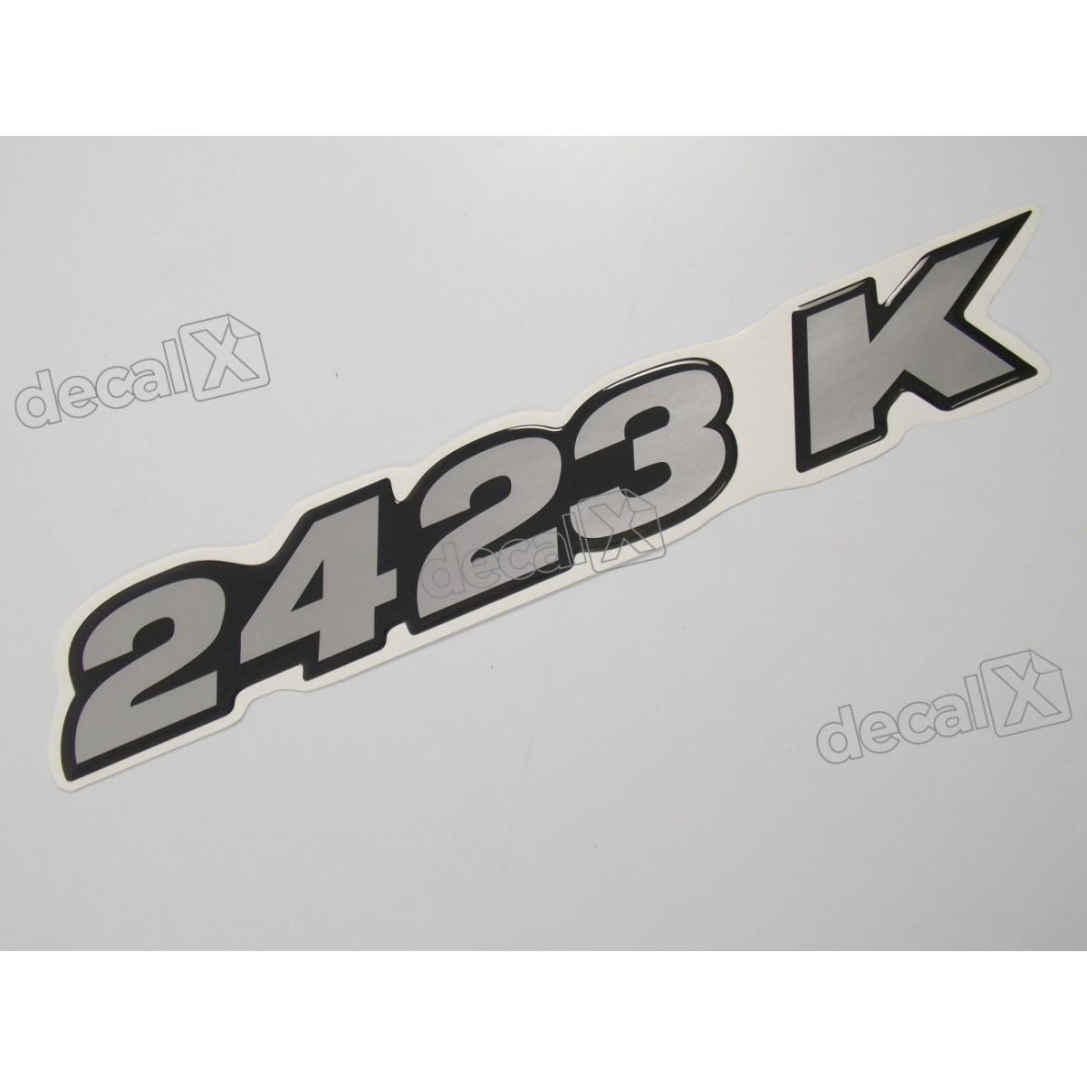 Adesivo Emblema Resinado Mercedes 2423 K Cm86 Decalx