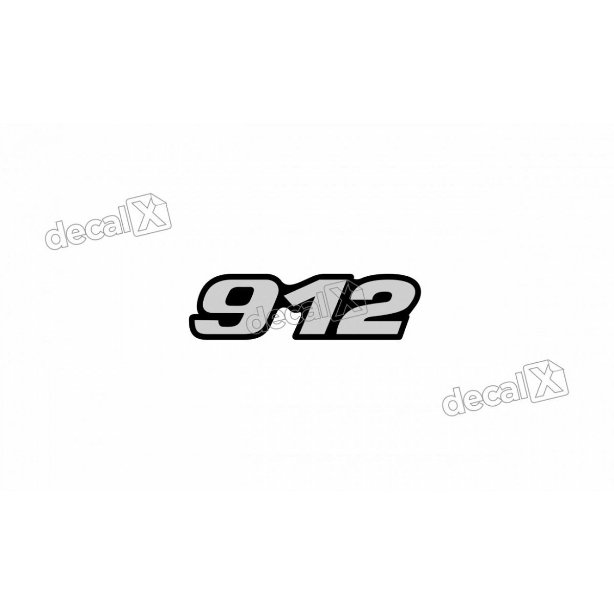 Adesivo Emblema Resinado Mercedes 912 Cm12 Decalx