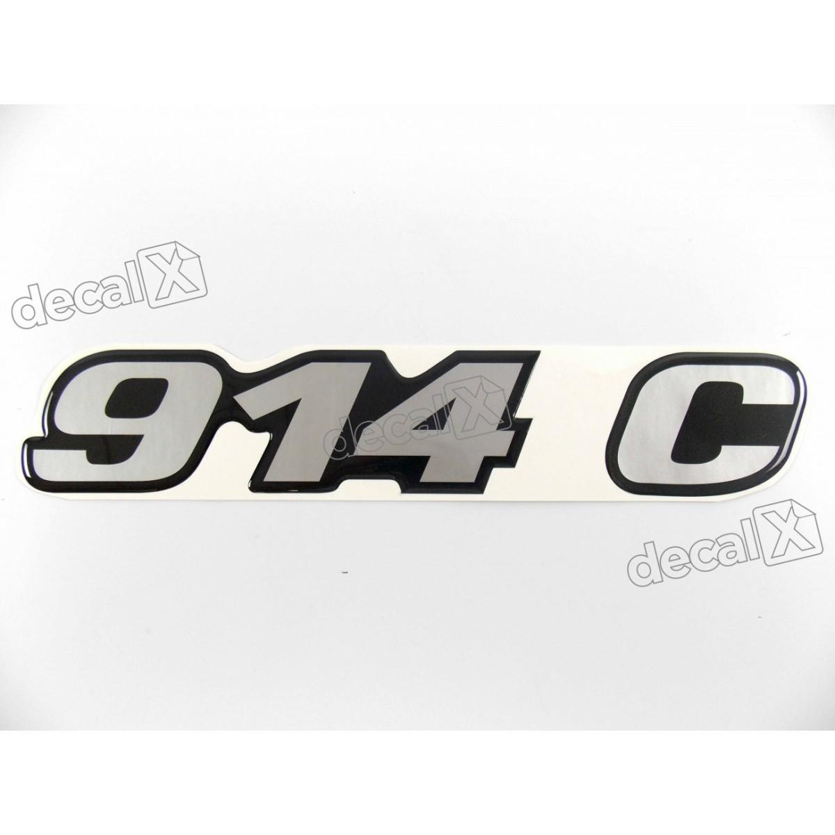 Adesivo Emblema Resinado Mercedes 914 C Cm13 Decalx