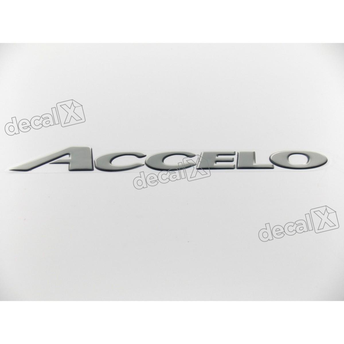 Adesivo Emblema Resinado Mercedes Accelo Cm90 Decalx