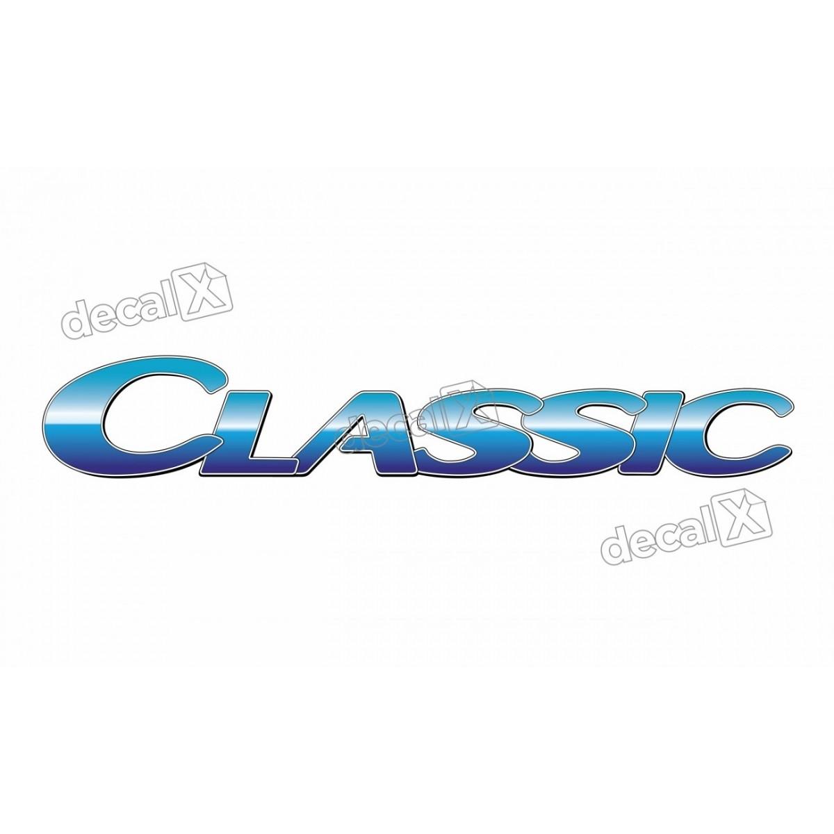 Adesivo Emblema Resinado Mercedes Classic Cm92 Decalx