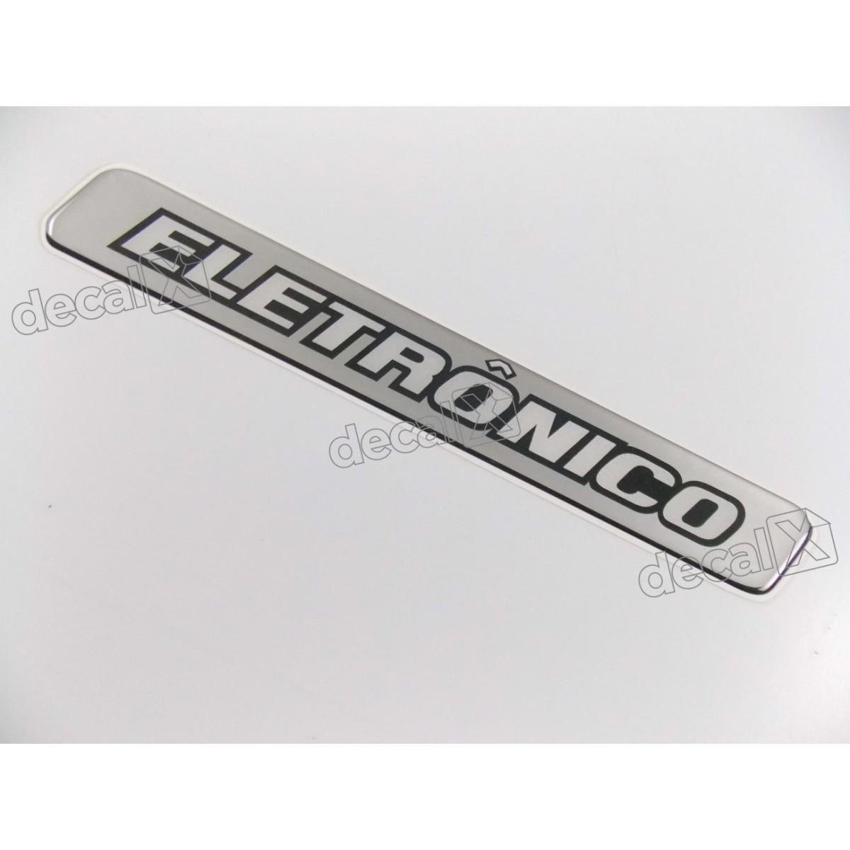Adesivo Emblema Resinado Mercedes Eletronico Cm94 Decalx