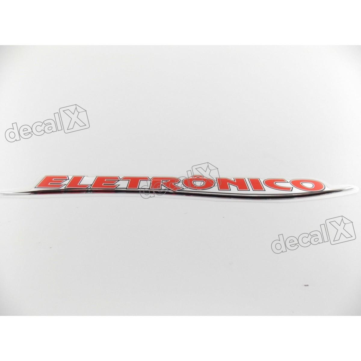 Adesivo Emblema Resinado Mercedes Eletronico Cm95 Decalx