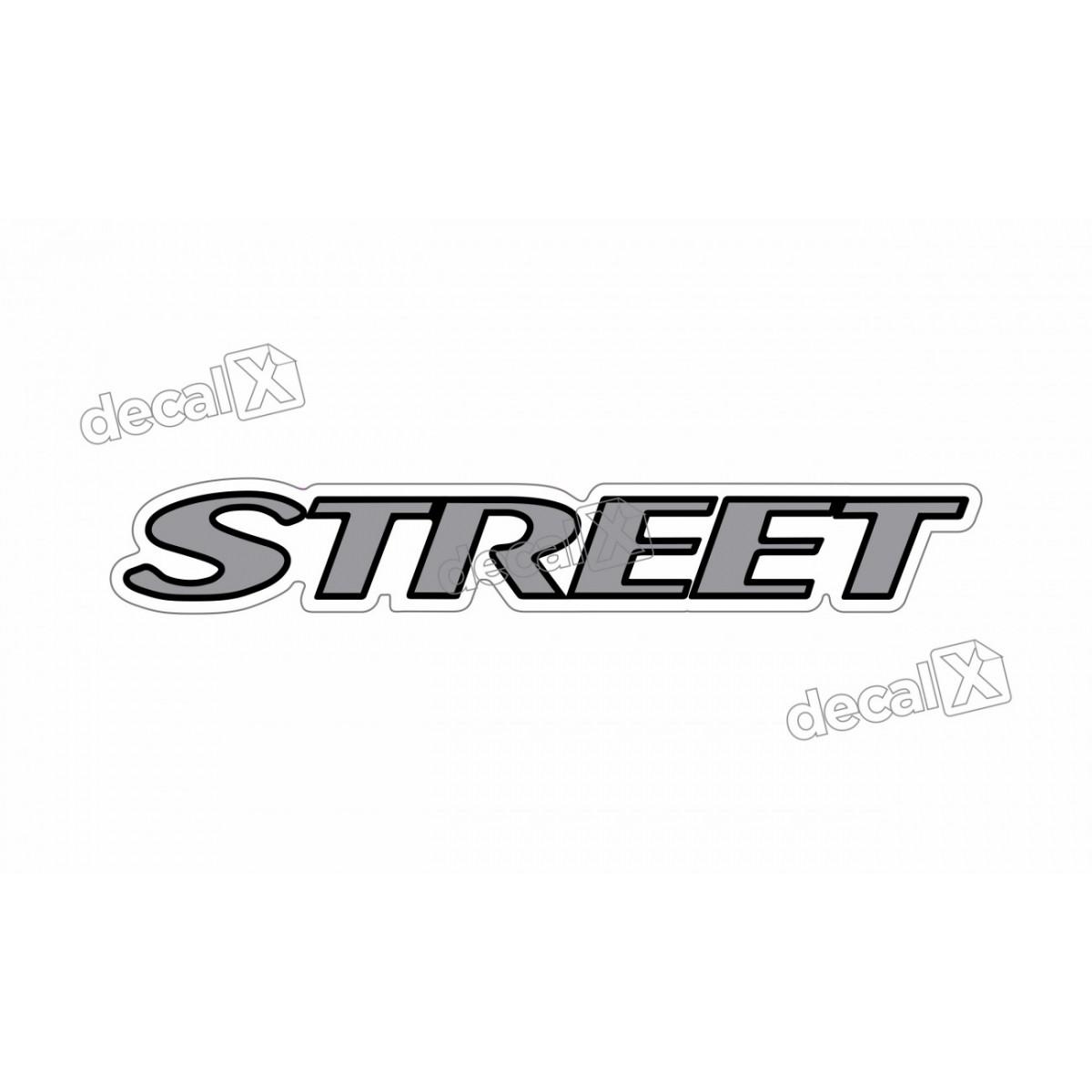 Adesivo Emblema Resinado Mercedes Street Cm102 Decalx