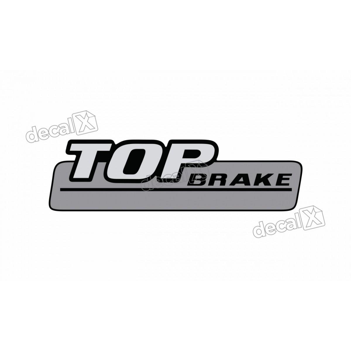 Adesivo Emblema Resinado Mercedes Top Brake Cm103 Decalx