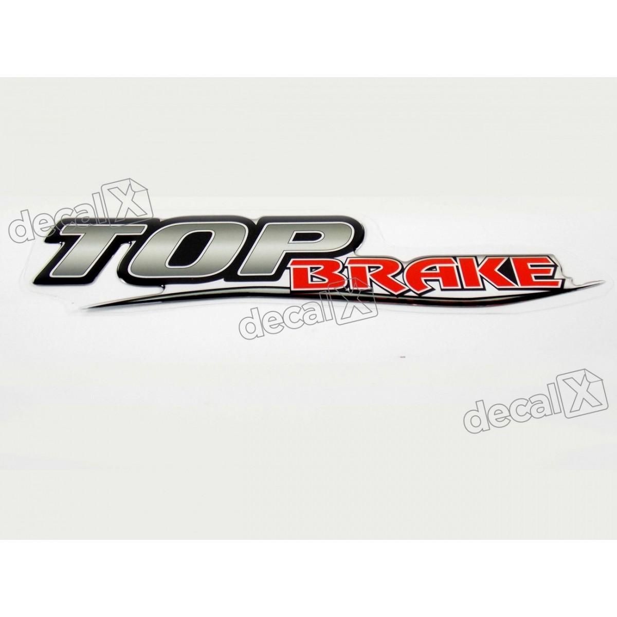 Adesivo Emblema Resinado Mercedes Top Brake Cm106 Decalx