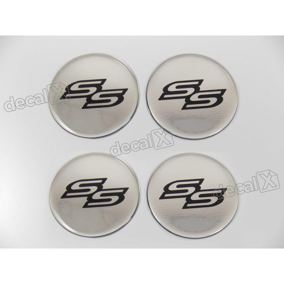 Adesivo Emblema Resinado Roda Chevrolet 65mm Cl25