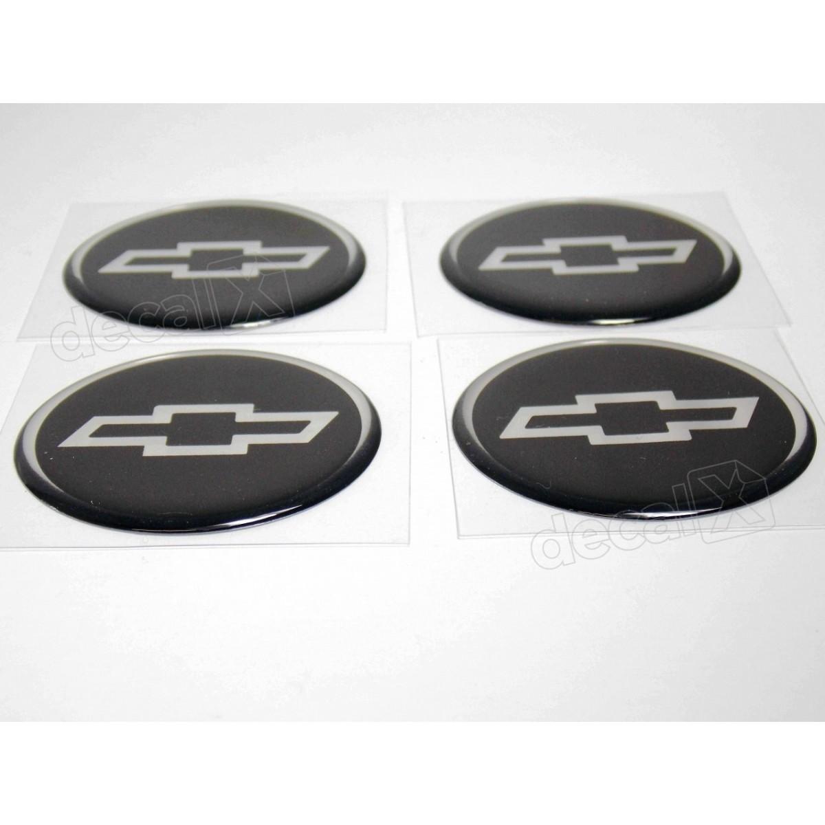 Adesivo Emblema Resinado Roda Chevrolet 68mm Cl18