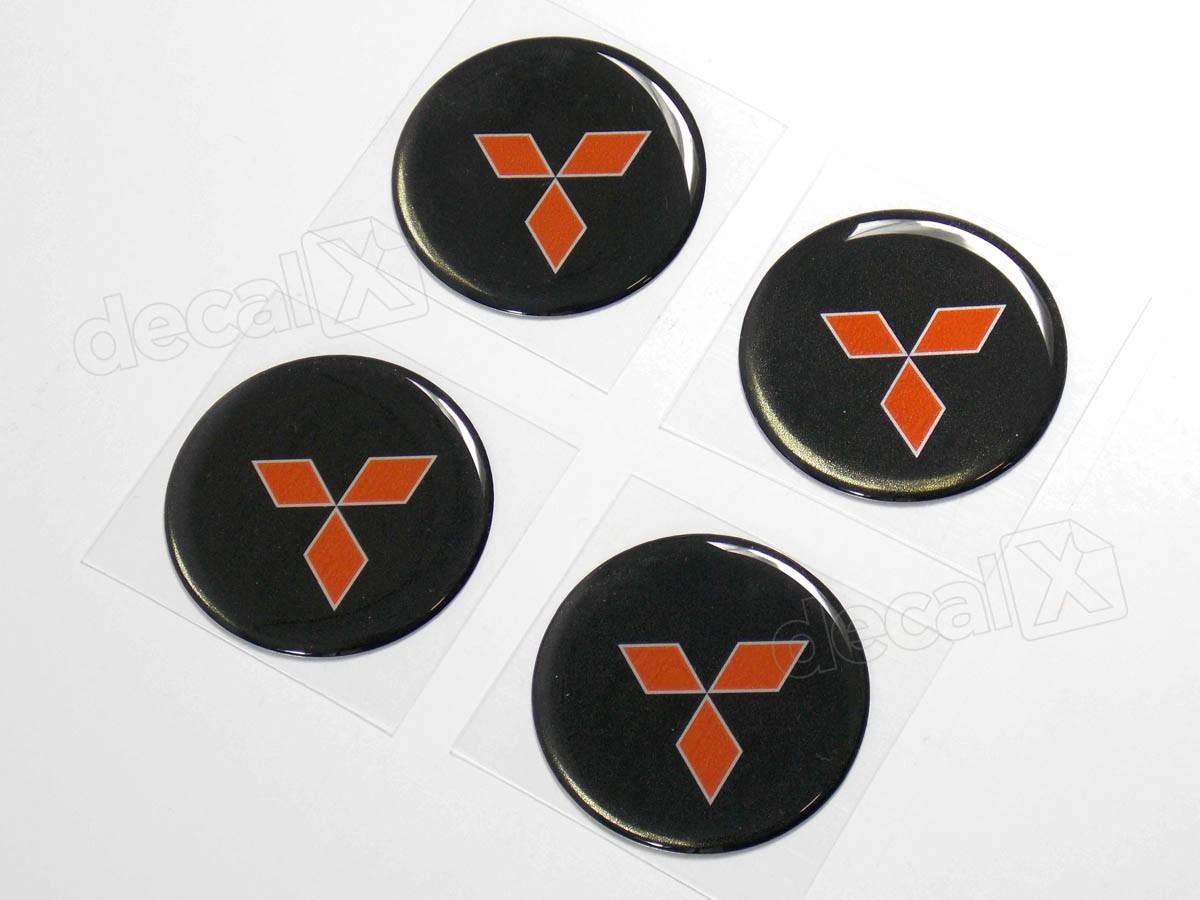 Armario De Parede Pequeno ~ Adesivo Emblema Resinado Roda Mitsubishi 70mm Adesivos para motos& Adesivos automotivos Decalx