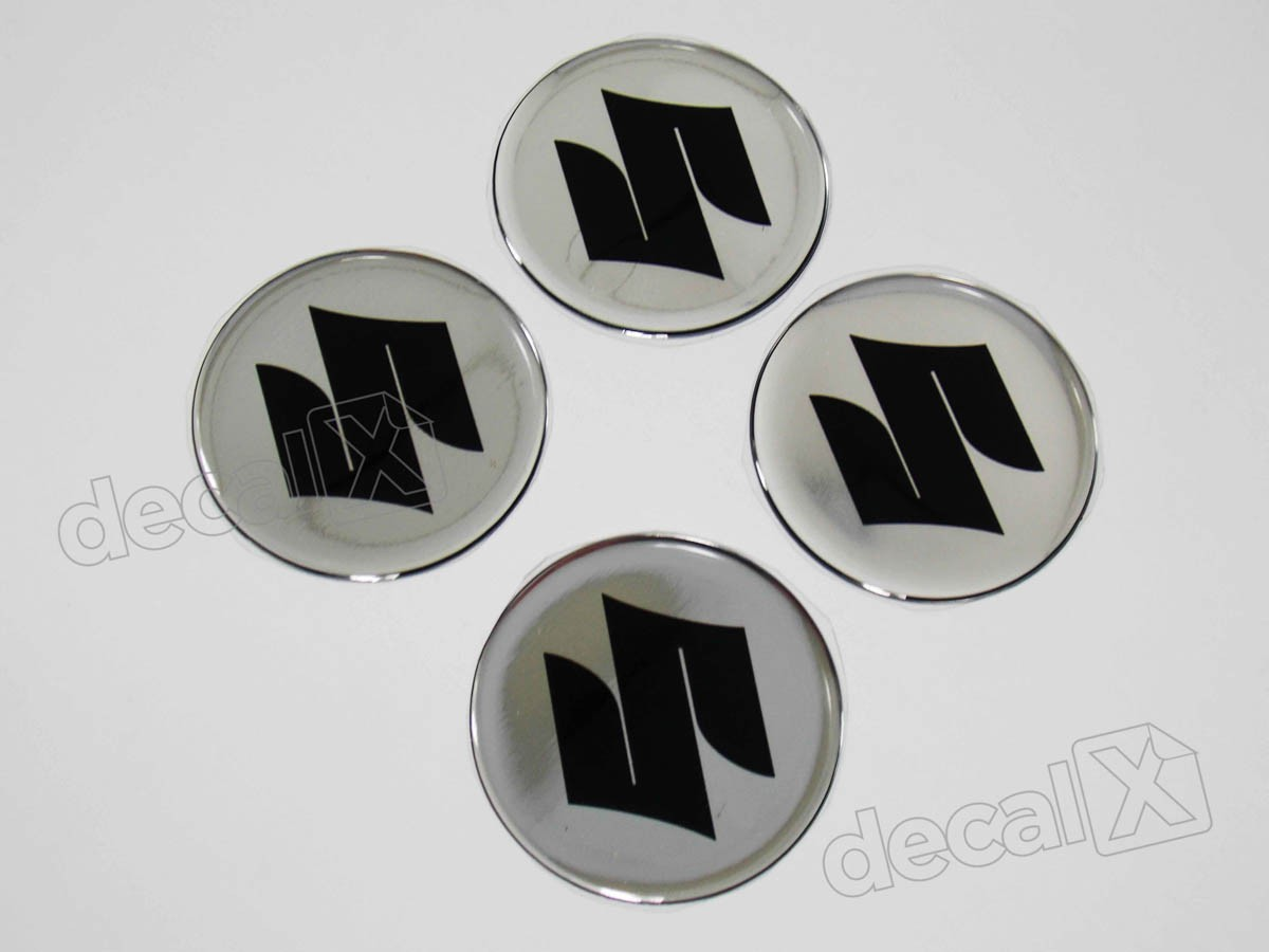 Armario De Parede Pequeno ~ Adesivo Emblema Resinado Roda Suzuki 51mm Cl2 Adesivos para motos& Adesivos automotivos Decalx