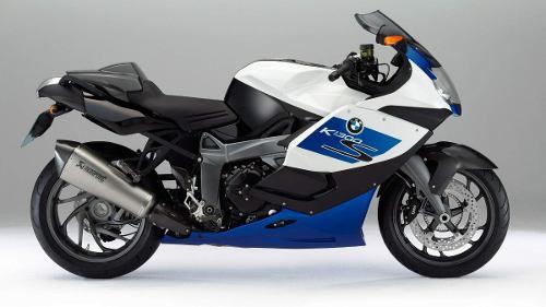 Adesivo Faixa Bmw K1300s Branca E Azul Decalx
