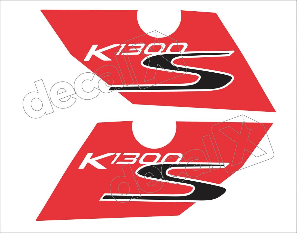 Adesivo Faixa Bmw K1300s Branca E Vermelha Decalx