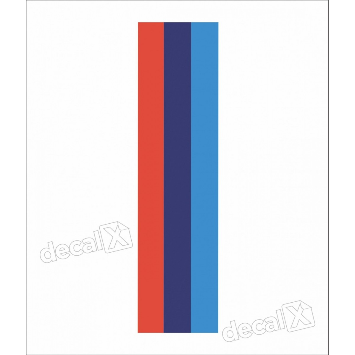 Adesivo Faixa Capo Bmw Tricolor Bw2