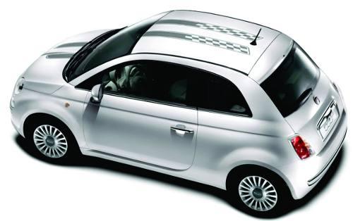 Adesivo Faixa Capo Teto Fiat 500 3m 50014